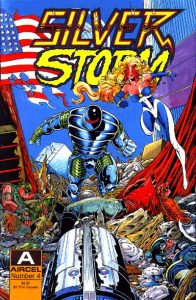 Silver Storm #4 (1990)
