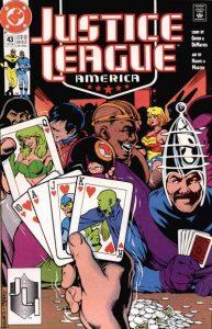 Justice League America #43 (1990)