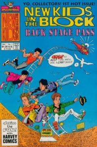 New Kids on the Block Backstage Pass #1 (1990)