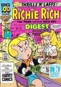 Richie Rich Digest Magazine #22 (1990)