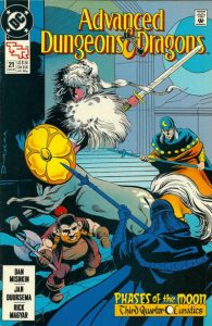 Advanced Dungeons & Dragons Comic Book #21 (1990)