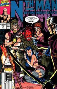 Nth Man the Ultimate Ninja #15 (1990)