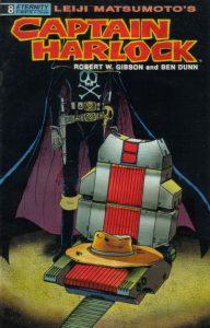 Captain Harlock #8 (1990)
