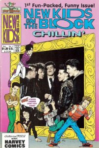 New Kids on the Block Chillin' #1 (1990)