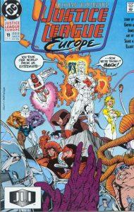 Justice League Europe #19 (1990)
