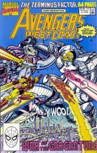 Avengers West Coast Annual #5 (1990)