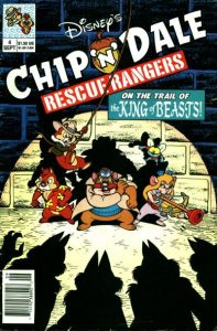 Chip 'n' Dale Rescue Rangers #4 (1990)