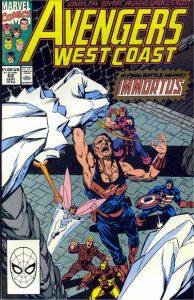 Avengers West Coast #62 (1990)