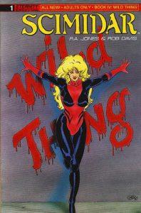 Scimidar Book IV: Wild Thing #1 (1990)