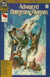 Advanced Dungeons & Dragons Annual Comic Book #1 (1990)