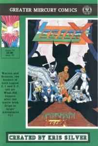 Legion X-1 #4 (1990)