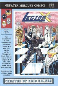 Legion X-2 #4 (1990)