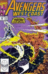 Avengers West Coast #63 (1990)