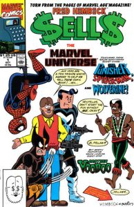 Fred Hembeck Sells the Marvel Universe #1 (1990)