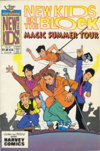 The New Kids on the Block, Magic Summer Tour #[nn] (1990)