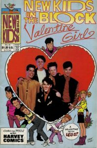 New Kids on the Block Valentine Girl #1 (1990)