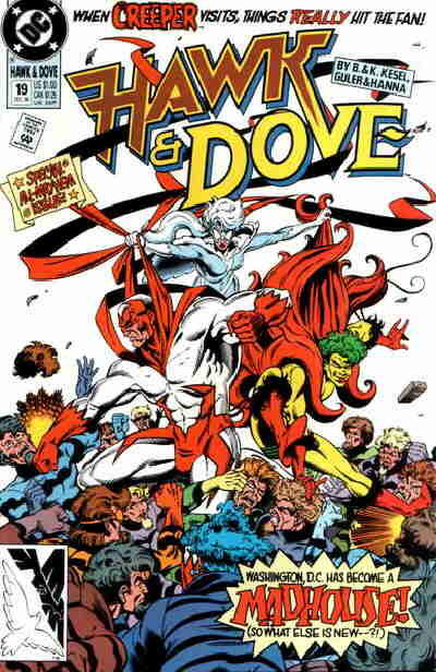 Hawk and Dove #19 (1990)