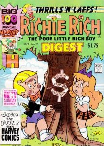 Richie Rich Digest Magazine #23 (1990)