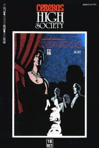Cerebus: High Society #18 (1990)