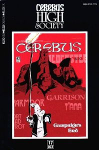 Cerebus: High Society #17 (1990)