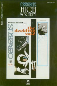 Cerebus: High Society #19 (1990)