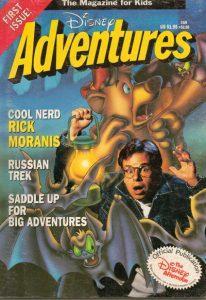 Disney Adventures #1 (1990)
