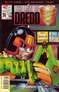 The Law of Dredd #24 (1990)