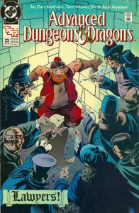 Advanced Dungeons & Dragons Comic Book #23 (1990)