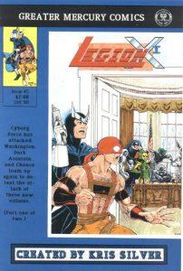 Legion X-1 #5 (1990)