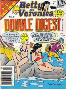 Betty and Veronica Double Digest Magazine #21 (1990)