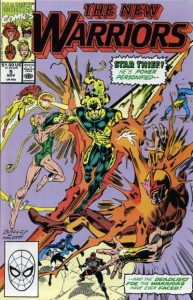 The New Warriors #5 (1990)