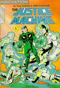 The Justice Machine #5 (1990)