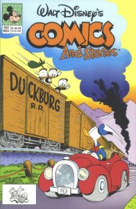 Walt Disney's Comics and Stories #553 (1990)