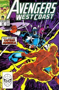 Avengers West Coast #64 (1990)