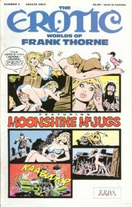 The Erotic Worlds of Frank Thorne #2 (1990)