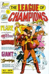 League of Champions #1 (1990)