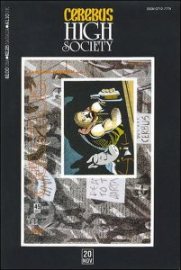 Cerebus: High Society #20 (1990)
