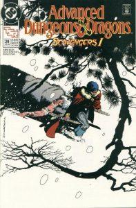 Advanced Dungeons & Dragons Comic Book #24 (1990)