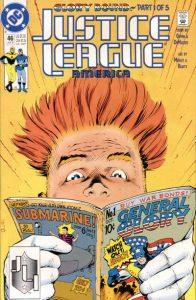 Justice League America #46 (1990)