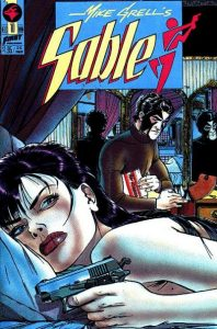 Mike Grell's Sable #10 (1990)