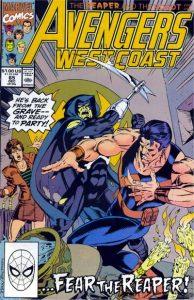 Avengers West Coast #65 (1990)
