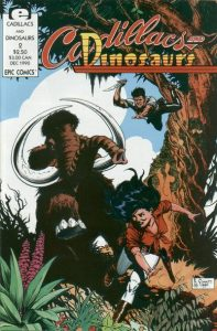 Cadillacs and Dinosaurs #2 (1990)