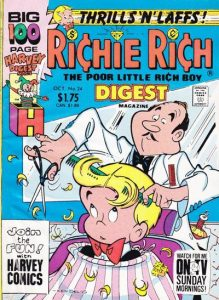 Richie Rich Digest Magazine #24 (1990)