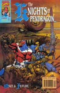 The Knights of Pendragon #6 (1990)