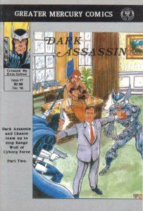 Dark Assassin #7 (1990)