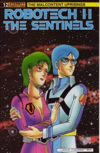 Robotech II: The Sentinels: The Malcontent Uprisings #12 (1990)