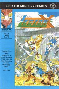 Legion X-1 #6 (1990)