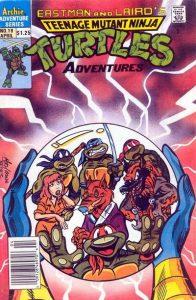 Teenage Mutant Ninja Turtles Adventures #19 (1990)