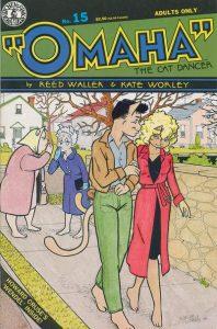 Omaha the Cat Dancer #15 (1991)