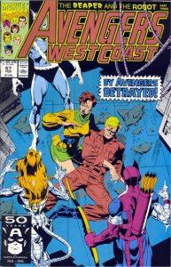 Avengers West Coast #67 (1991)